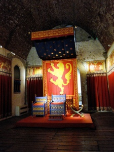 The throne room at Dover Castle. Photo by Richard White, CC-BY-NC-ND 2.0.